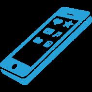 Телефони, рулі, абетки