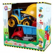 Іграшка Малюк-будівельник 2 Технок 3985