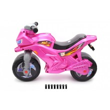 Мотоцикл 2-х колісний перламутровий 501 О